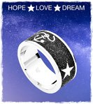 Ring HOPE LOVE DREAM